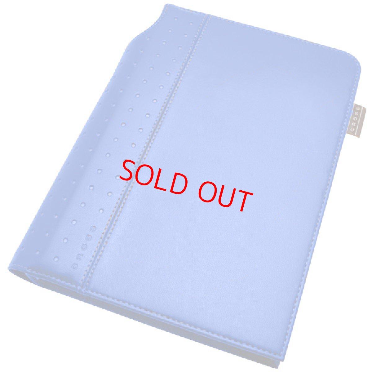 画像1: 【新品】米国CROSS社 クロスプレミアムノートブック手帳 ミニペン付き(ブルー) (1)