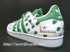"""画像1: 【新品】アディダス スーパースター 35周年記念 adidas SUPER STAR 35th ANNVERSARY SUPERSTAR CITY SERIES """"BOSTON ボストン""""モデル 【132319】 (1)"""