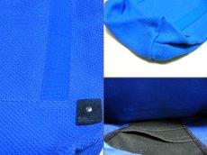 画像3: 【デッドストック/新品】ソーバイアレクサンダーヴァンスロベ SO by alexander van slobbe×AJIOKA(味岡)コラボモデル ドラムタイプショルダーバック ブルー  (3)