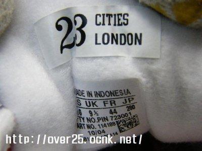"""画像1: 【新品】ADIDAS  SUPER STAR 35周年記念 CITY SERIES """"London 英国ロンドン""""モデル 28cm【アディダス スーパースター】"""