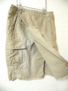 画像3: 古着リメイク【BONUM TOKYO(ボナム東京)ベイクルーズ扱い】ポケットいっぱい 2WAY巻きスカート【サイズ36 36:ウエスト57cm】 (3)