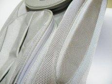 画像4: 超美品USED TUMI  STE T3  バランス バック(リュック)パック アルミ シルバー 【TUMI  6481】 (4)