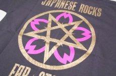 画像8: 【激レアブランドのロックTシャツ】FAR★STAR(ファースター)|ガイコツ(スカル)柄 デザインTシャツ(グレー)|サイズ:0(Sサイズ程度)|美USED (8)
