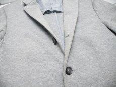 画像4: オールシーズン◎ BANANA REPUBLIC(バナナリパブリック)コットンサックジャケット|ライトグレー|サイズ:S(肩幅:42cm)|USED メンズ (4)