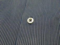 画像5: カジュアルにもオフィスにも◎|未使用品|日本製 丸井扱い リロイ(RELLOY) レギュラーカラー ストライプ長袖シャツ|サイズ:M(M〜Lサイズ程度:肩幅:48cm)【メンズ】 (5)