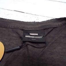 画像4: オーガニックコットン100% 未使用 Dr.Denim(ドクターデニム) ユーズド加工 「SCREW PERFECTION」ロゴ入り ルーズTシャツ サイズ:Lサイズ程度 レディース (4)