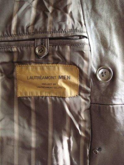 画像2: 【新品】LAUTREAMONT MEN(ロートレアモン メン)高級羊革コート(フリーサイズ)