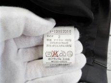 画像3: 【値下げしました】着回し◎ 手洗いOK INED(イネド)レザータッチ ナイロン素材ブラックスカート  サイズ:2(ウエスト:68cm)【レディース】【USED】 (3)