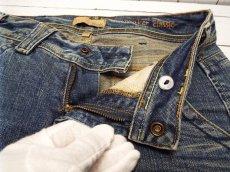 画像6: お洒落な女性にオススメの1本 アメリカ製セレブブランド ヤヌーク(YANUK) Worker Classic デニムパンツ ジーンズ サイズ:25(ウエスト:77cm) レディース  USED (6)