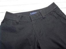画像4: 着回しローテにオススメ!spick and span(スピック&スパン)|ストレート|綿100%パンツ|濃紺|サイズ36(ウエスト:約76cm)|USED|レディース (4)