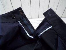 画像6: 着回しローテにオススメ!spick and span(スピック&スパン)|ストレート|綿100%パンツ|濃紺|サイズ36(ウエスト:約76cm)|USED|レディース (6)