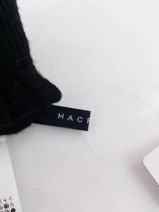 画像5: 脚長効果◎ MACPHEE(マカフィー) トゥモローランド  ウール100% リブニットパンツ|ブラック系|サイズ:36(ウエスト:66〜70cm)USED|レディース (5)