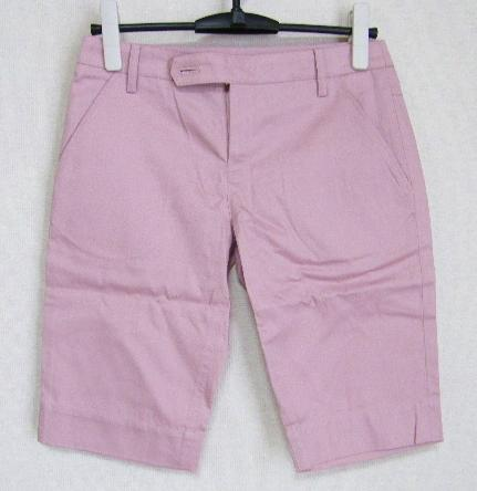 画像1: 新品 レイ ビームス RAY BEAMS ピンク ショートパンツ(0)【ウエスト:75cm】 (1)