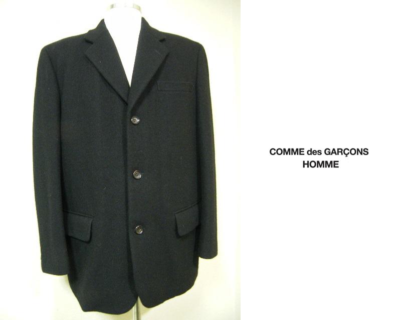 画像1: 【美品USED】コムデギャルソン・オム ニット付起毛ジャケットS (1)