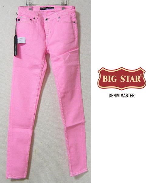 画像1: 【メーカーサンプル品(メキシコ製・一点物)】BIG STAR ALEX MID RISE SKINNY ローライズストレッチスキニーパンツ【ウエスト:約72cm/日本サイズ:15号・L】 (1)