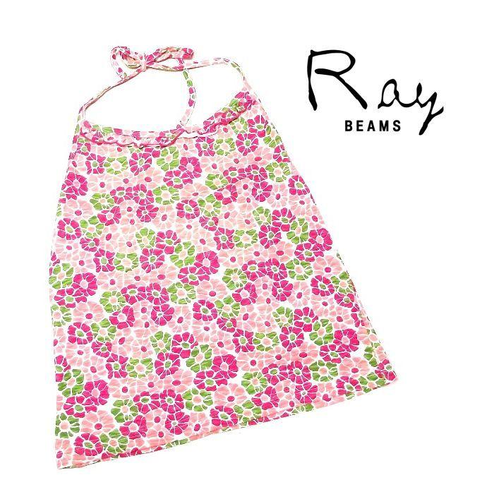 画像1: 水着との合わせにも◎|新品(レディース)|RAY BEAMS( レイビームス)|リブ入り花柄キャミソール|フリーサイズ (1)