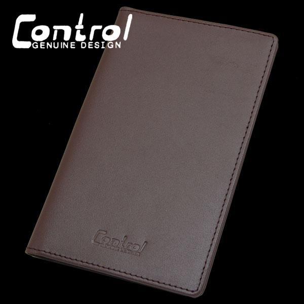 画像1: 【新品】CONTROL 必見ビジネスアイテムに!メモ帳カバー(チョコ)  (1)