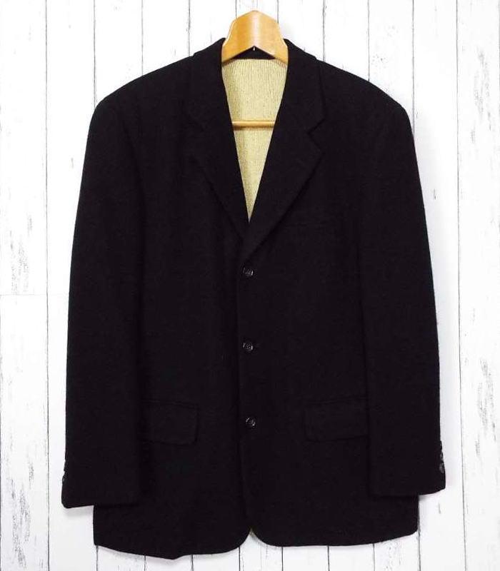画像1: インナーニット付きの素敵な起毛ジャケット!COMME des GARCONS HOMME(コムデギャルソン・オム)ニット付起毛ジャケット|サイズ:S(M〜L程度)|メンズ|USED|高級ブランド (1)