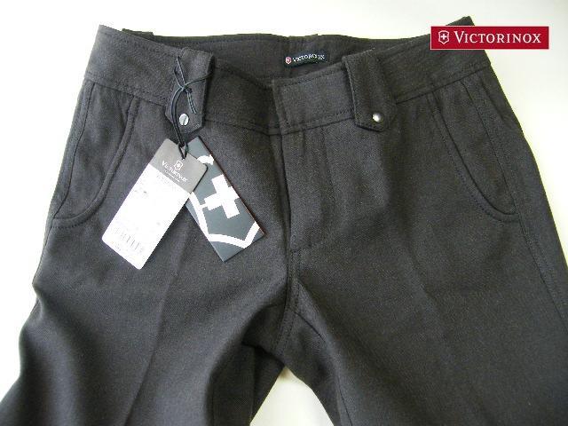 画像1: 【新品】ビクトリノックス VICTORINOX ウールパンツ  サイズ38(2)【ウエスト:74cm】 (1)