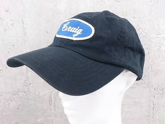 画像1: 刺繍入りワッペンが◎ override(オーバーライド)OR WAPPEN CAP+POUCH+CT @DK スナップバックキャップ(帽子)ブラック系 サイズ:57〜59cm (1)